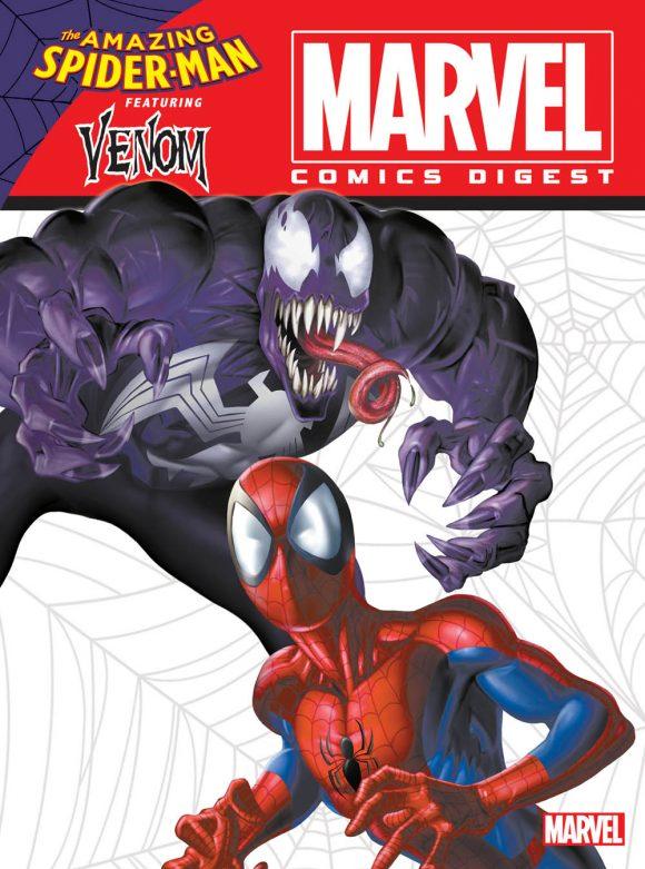 Exclusive the next marvel comics digest will star venom 13th dimension comics creators culture - Marvel spiderman comics pdf ...