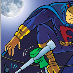 BLUE FALCON Gets the DARK KNIGHT Treatment. Wait, What?