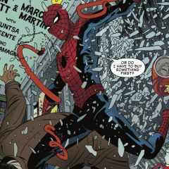 SNEAK PEEK: Dan Slott's Final AMAZING SPIDER-MAN Issue