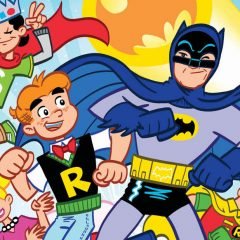 FIRST LOOK: Art Baltazar's ARCHIE/BATMAN '66 #3 Cover