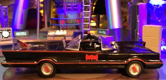 CHRISTMAS IN JUNE: Ultimate BATCAVE Model Now Shipping
