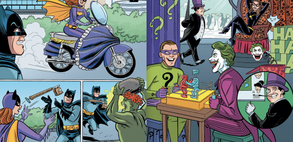 SNEAK PEEK: ARCHIE MEETS BATMAN '66 #1