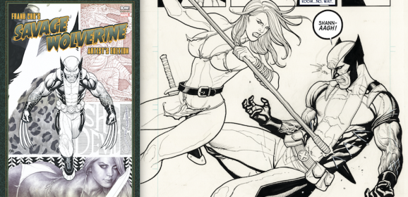 13 STUNNING PAGES: Inside Frank Cho's SAVAGE WOLVERINE Artist's Edition