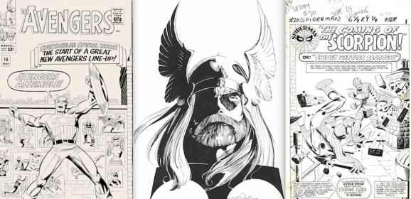 EXCLUSIVE LOOK: The Greatest AVENGERS Art Exhibit You'll Ever See