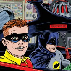 FIRST LOOK: Mike Allred's ARCHIE/BATMAN '66 #4 Cover