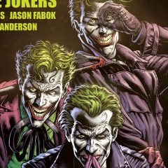 GEOFF JOHNS Teases THREE JOKERS With New Art