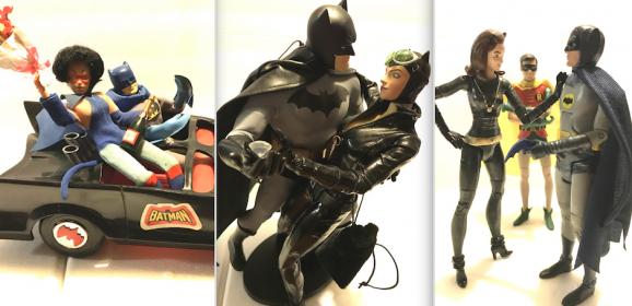 13 Great BATMAN & CATWOMAN Action Figures
