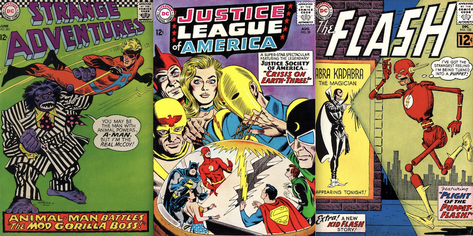 13 Reasons To Love Dc In The Silver Age 13th Dimension Comics