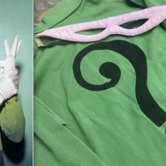 Dig This UP-CLOSE LOOK at an Original RIDDLER Costume