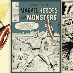 Behold KIRBY'S MARVEL HEROES AND MONSTERS Artist's Edition