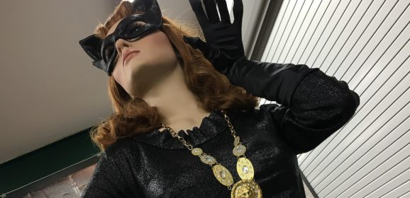 Dig this UP-CLOSE LOOK at an Original CATWOMAN Costume