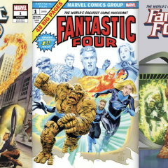 The 13 Coolest FANTASTIC FOUR #1 Variant Covers