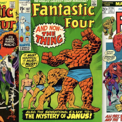 13 COVERS: John Buscema's FANTASTIC FOUR