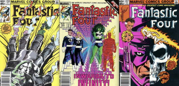 13 COVERS: John Byrne's FANTASTIC FOUR