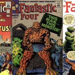 13 COVERS: Jack Kirby's FANTASTIC FOUR