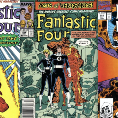 13 COVERS: Walter Simonson's FANTASTIC FOUR