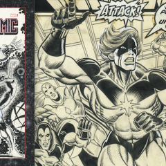 EXCLUSIVE: Inside JIM STARLIN'S MARVEL COSMIC ARTIFACT EDITION