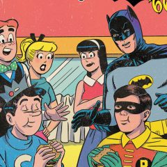 FIRST LOOK: BATMAN & ARCHIE Go Old School on New Cover