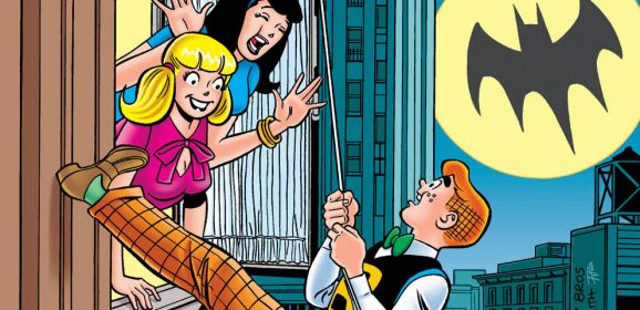 FIRST LOOK: Betty & Veronica Make It a Classic Bat-Climb