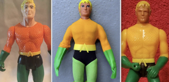 The Great AQUAMAN Merchandise of the Bronze Age
