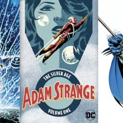 Classic BATMAN, WONDER WOMAN, ADAM STRANGE Lead DC's New Paperbacks