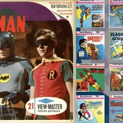 The Endless Joy of Superhero VIEW-MASTERS