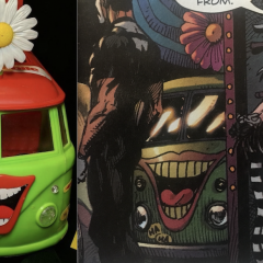The MEGO JOKERMOBILE is Now Officially in the DC Universe