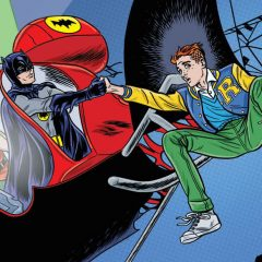 FIRST LOOK: The Batcopter Soars on Allred's ARCHIE/BATMAN '66 #6 Cover