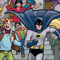 FIRST LOOK: Dan Parent's ARCHIE/BATMAN '66 #6 Cover