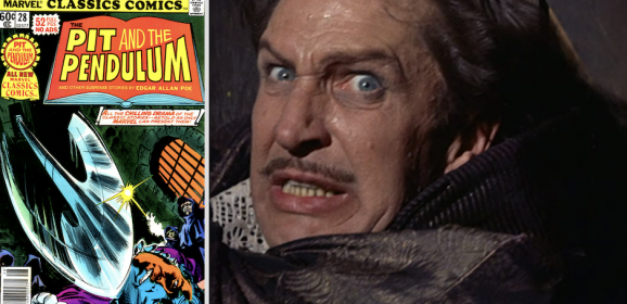 THE PIT AND THE PENDULUM: From Vincent Price to Marvel Comics