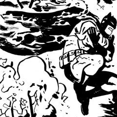 13 Magnificent BATMAN Sketches by CHRIS SAMNEE