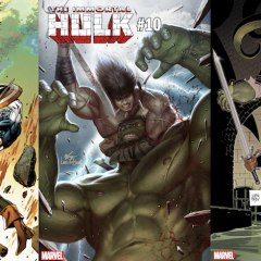 BY CROM: Dig these Powerful CONAN VS. MARVEL Variant Covers