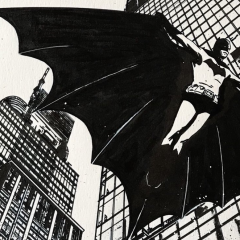Your Next Great BATMAN Artist is JORGE FORNES