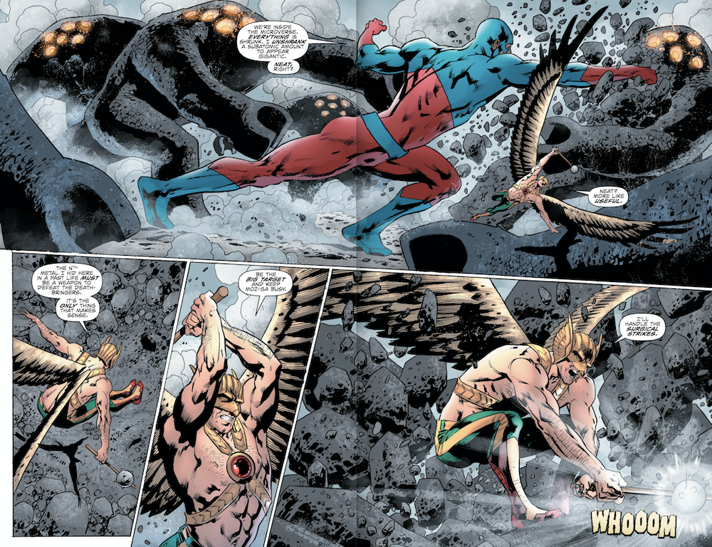 HAWKMAN #6 Page 4-5. Image Courtesy of DC Entertainment.