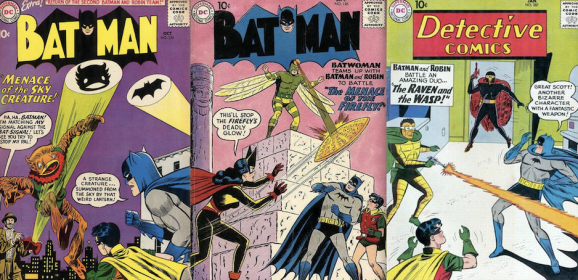 13 Silly BATMAN Covers to Make You Feel Good