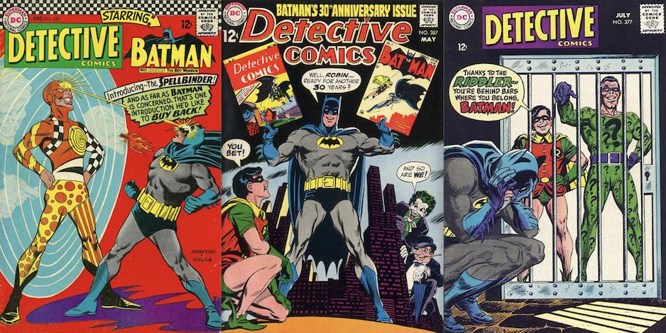 Detective Comics #1000 DC Comics Jim Steranko 1960s Decade Variant