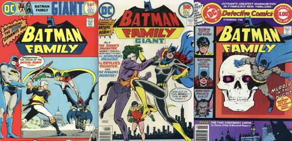 13 BATMAN FAMILY Covers to Make You Feel Good