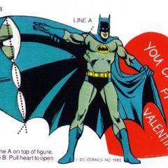 13 Vintage Superhero Valentines That Will Creep You Out