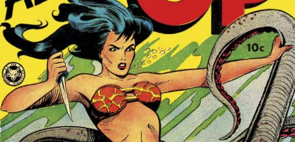 13 COVERS: The Golden Age of JUNGLE GIRLS