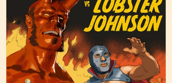 HELLBOY VS. LOBSTER JOHNSON: The Making of Paolo Rivera's Cover