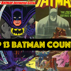 The TOP 13 GREATEST BATMAN STORIES EVER — RANKED
