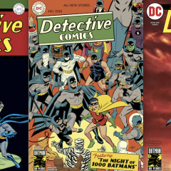 Dig the Final Versions of the DETECTIVE COMICS #1000 Variants