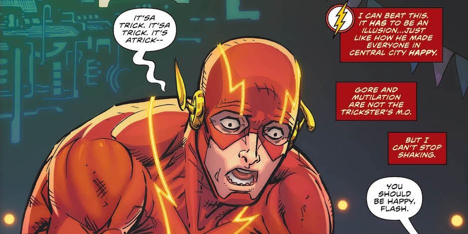 EXCLUSIVE Preview: THE FLASH #69