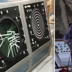 Dig This UP-CLOSE LOOK at an Original 1966 BATCAVE SCANNER