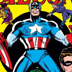 13 COVERS: A Salute to CAPTAIN AMERICA