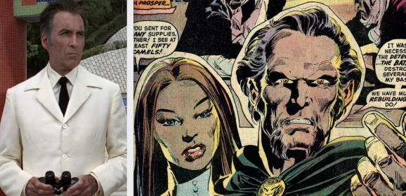 CHRISTOPHER LEE: The Greatest RA'S AL GHUL Who Never Was