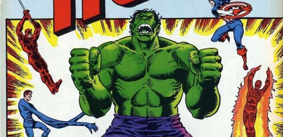 13 COVERS: A Salute to THE HULK