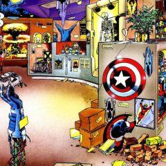 GEORGE PEREZ Revisits the HULK: FUTURE IMPERFECT Trophy Room