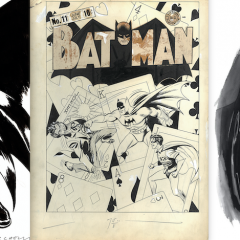 INSIDE LOOK: The Greatest BATMAN Art Exhibit You'll Ever See