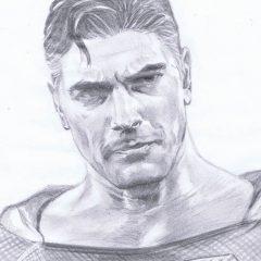 Dig ALEX ROSS' Sketch of BRANDON ROUTH as KINGDOM COME SUPERMAN
